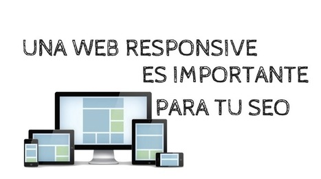 Una web responsive es importante para tu SEO | artículos social media | Scoop.it