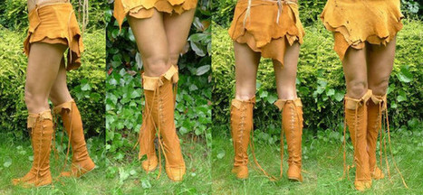 Gipsy Dharma New Leather Boots and Skirts Collection Are Handcrafted Using The Finest Pieces of Leather | Bohemian Trend List | Scoop.it