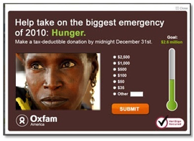 Case Study: M+R Walks Us Through Testing an Email Fundraising Campaign from Oxfam America   Email Marketing for Nonprofits   Scoop.it
