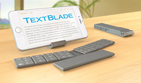 WayTools Unveils TextBlade.  Touch-Typing Breakthrough. | iClass Finland Education Network Oy | Scoop.it