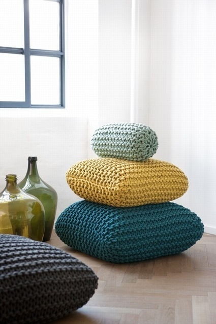 Get Comfortable: 10 Stylish Floor Cushions - Furniture Fashion | PPM AG - Darlings in Interiors | Scoop.it