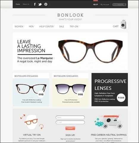 20+ Great e-commerce Websites for Inspiration - TrendLeaks | Ecom Revolution | Scoop.it