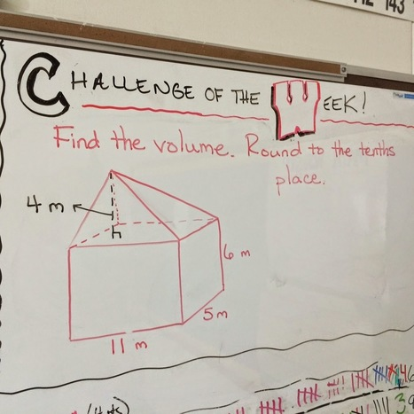 Math in the Middle: Challenge of the Week | Recursos Matemática | Scoop.it