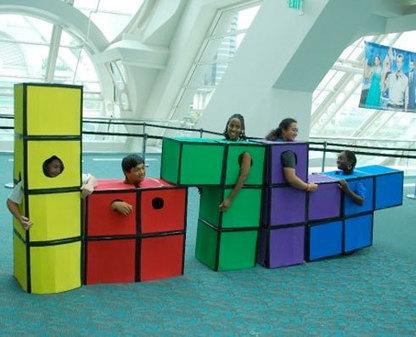 Un mec transforme sa bibliothèque en Tetris | Veille pour rire ou sourire | Scoop.it