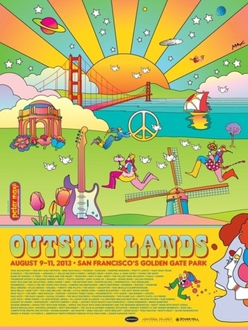"'60s Icon Peter Max Talks Music, Art, and His ""Groovy"" Outside Lands Poster 
