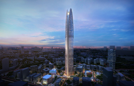 SOM envisions sustainable Pertamina energy tower in Jakarta - designboom | architecture & design magazine | The Architecture of the City | Scoop.it