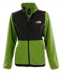 Green Denali Fleece Jacket By North Face For Women- $95.00 & free shipping! | winter wear | Scoop.it