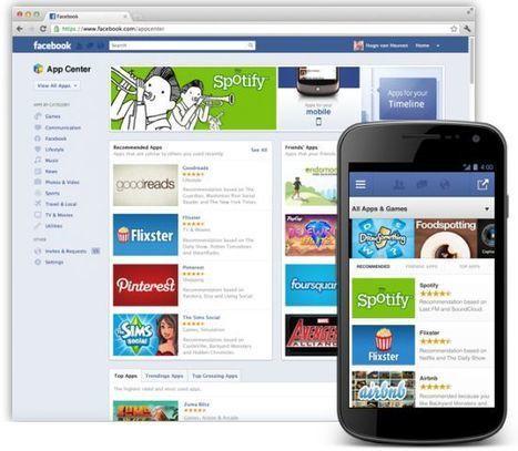 Facebook Appcenter : lancement de l'appstore de Facebook | Webmarketing, Medias Sociaux | Scoop.it
