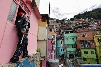 Favela Painting: Brushing Up Rio's Slums For World Cup - Yahoo Travel   Brazil   Scoop.it