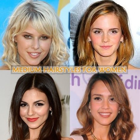 Medium Hairstyles for Women | Women Hairstyles | Women Hairstyles | Scoop.it