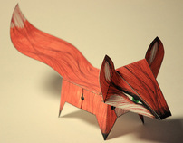 Glueless Paper Animals (JUST FOLD) | paper-toy | Scoop.it