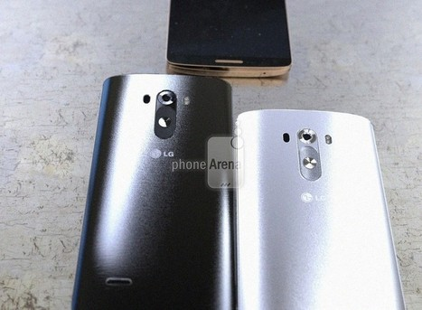 The LG G3 isn't camera shy, shows up in more leaked images | Android Discussions | Scoop.it