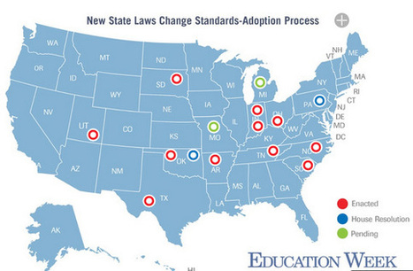 State Lawmakers Assert Influence Over Standards | College and Career-Ready Standards for School Leaders | Scoop.it