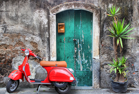 History of an Icon: La Vespa | East Coast Limousine Service | Scoop.it