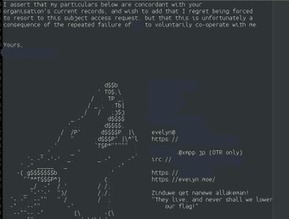 Tweet from @wolfniya | ASCII Art | Scoop.it