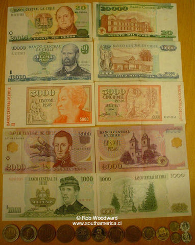 Money in Chile - Money Exchange, Coins Notes Bills, U.F. Casas de Cambio | Chile, Scarlett Bullard | Scoop.it