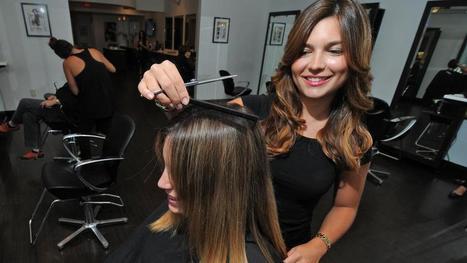 College graduates wield scissors at high-end hair salons - Boston Herald | Hairstylist & Hair Salon Business | Scoop.it