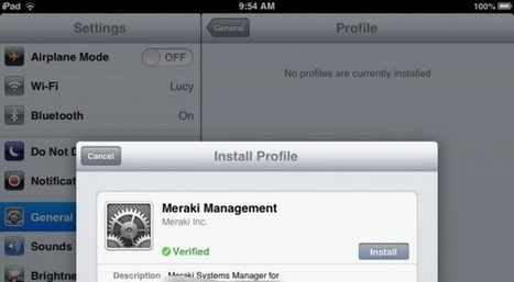Why Can Users Remove iPad MDM Management Profiles? | Mobile (Post-PC) in Higher Education | Scoop.it