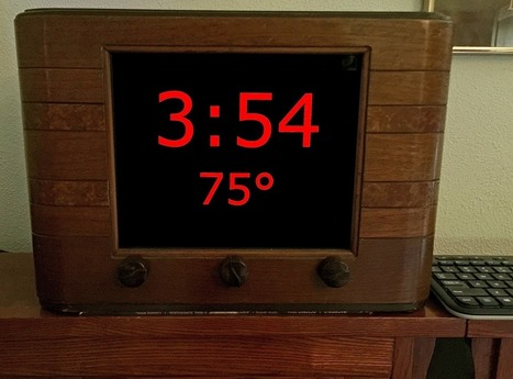 R-Pi Clock Radio – Zeroed! | Into the Driver's Seat | Scoop.it