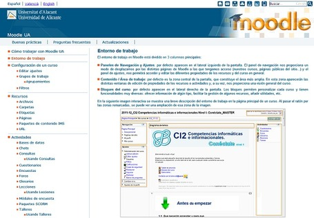 Manual de Moodle 2.2 para el profesorado elaborado por la Universidad de Alicante | Searching & sharing | Scoop.it