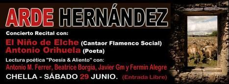 ARDE HERNÁNDEZ, Concierto Recital, Sábado, 29 de Junio de 2013, 20,30 h., Valencia | MARATÓN DE CITAS | Scoop.it