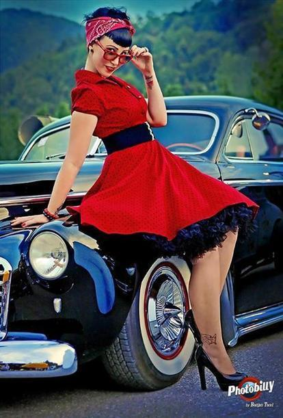 Everyday Is Christmas With The Pin Up Photography of Bostjan Tacol | Rockabilly | Scoop.it