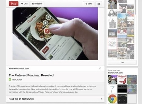 Pinterest entrera-t-il dans la cour des grands ? | Charliban Worldwide | Scoop.it
