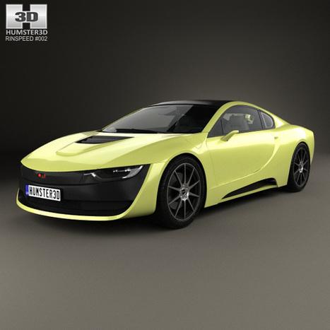 3D model of Rinspeed Etos 2016   3D models   Scoop.it