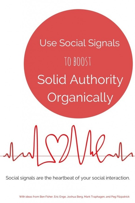 Use Social Signals to Boost Solid Authority Organically | GooglePlus Expertise | Scoop.it