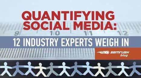 Quantifying Social Media: 12 Industry Experts Weigh In | Mallee Blue Media | Scoop.it