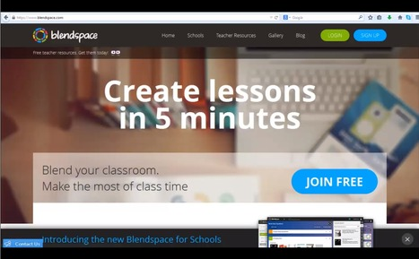 Create powerful lessons in minutes with Blendspace | Edumorfosis.it | Scoop.it