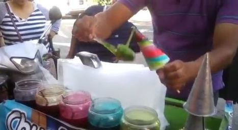 [WATCH] Man Turns Crushed Ice Into Awesome And Cool Dessert - Cebu and Davao Journey | Technology | Scoop.it