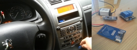 Arduino RFID Car Starter | Open source car | Scoop.it