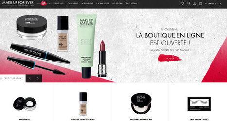 Make Up For Ever ouvre son e-shop français | Beauté & Cosmétiques | Scoop.it