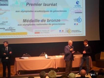 Olympiades académiques de Géosciences - Remise des prix le 1er juin 2016 au Muséum de Toulouse - Education artistique et culturelle   C'est à suivre   Scoop.it