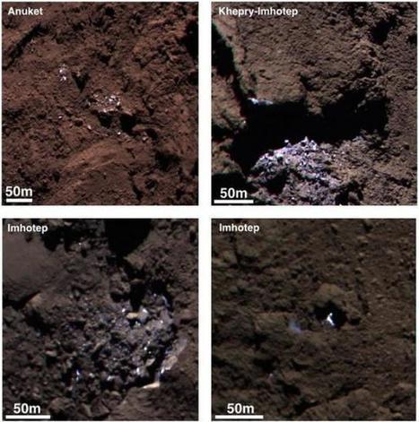 Mission Rosetta, la comète contiendrait de l'eau glacée ? - meltyDiscovery | Cosmos | Scoop.it