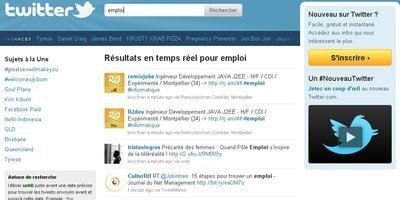 Twitter, plus fort que Pôle Emploi? - L'Express | Social Media Exploration | Scoop.it