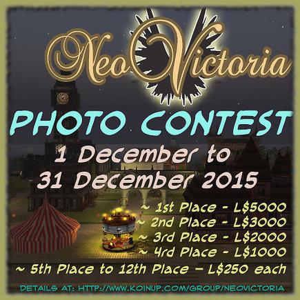 Neo Victoria 2015 Photo Contest! | The NeoVictoria Project | Scoop.it