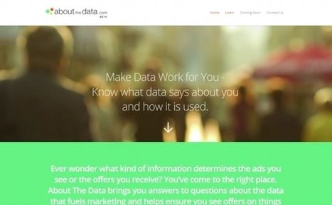 How Well Does Data Know You? | Business Transformation | Scoop.it