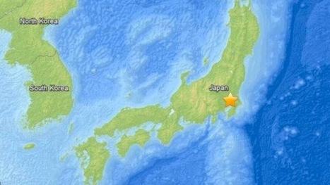 Un sismo de 5,5 en el centro de Japón se deja sentir en Fukushima y Tokio   BIGEO PARA LA ESO   Scoop.it