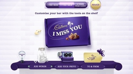 Cadbury se plie en quatre pour ses fans! | French Digital News | Scoop.it