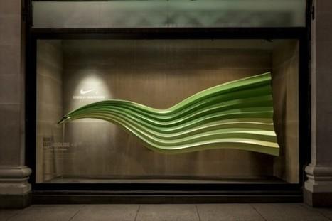 Série de vitrines interactives pour Nike | Publicité Créative | Scoop.it