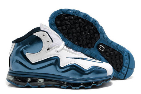 White/White/Game Royal Blue Air Max Flyposite Mens Trainers | new and share style | Scoop.it
