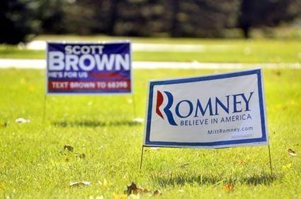 Pittsfield graphic designer says political lawn signs still have their place - Berkshire Eagle | The environment of persuasion | Scoop.it