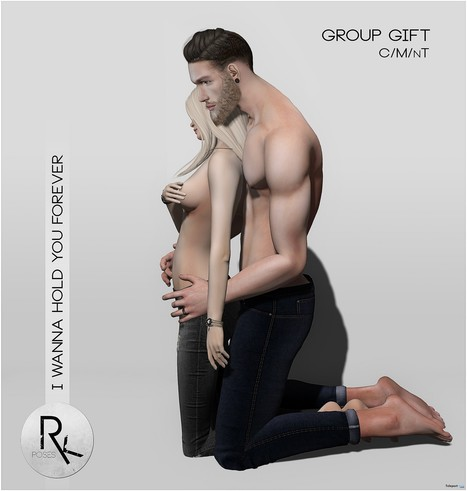I Wanna Hold You Forever Couple Pose July 2016 Group Gift by RK Poses | Teleport Hub - Second Life Freebies | Second Life Freebies | Scoop.it