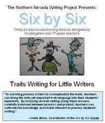 WritingFix: Our Northern Nevada 6-Trait Print Guide and Inservice Class | 6-Traits Resources | Scoop.it