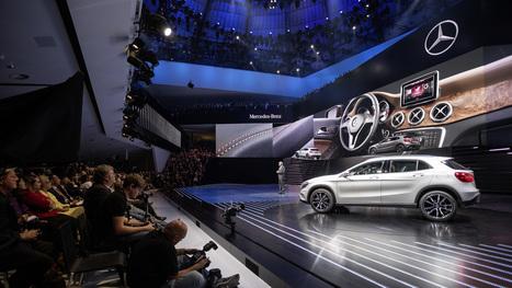 Mercedes-Benz GLA al Salone internazionale dell'Automobile di Francoforte | Mercedes-Benz GLA | Scoop.it