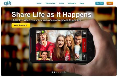 Qik | Record and share video live from your mobile phone | Social media kitbag | Scoop.it