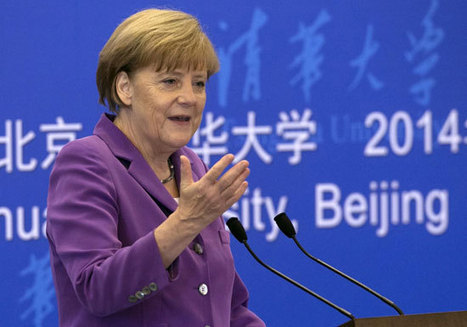 German Chancellor delivers speech at Tsinghua on sustainable development - ecns | NGOs in Human Rights, Peace and Development | Scoop.it