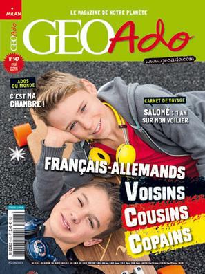 Géo Ado n°147 - Mai 2015 | Revue de presse Pierre Flamens | Scoop.it